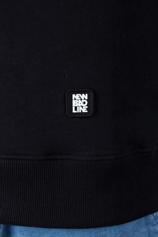 Bluza New Bad Line Cut Icon Black