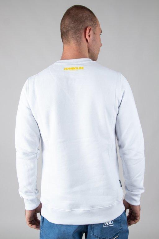 Bluza New Bad Line Cut Icon White