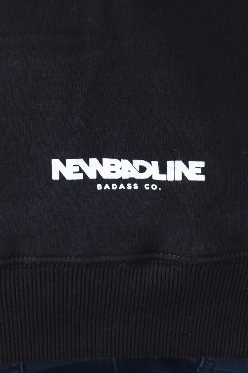 Bluza New Bad Line Hoodie Draw Black