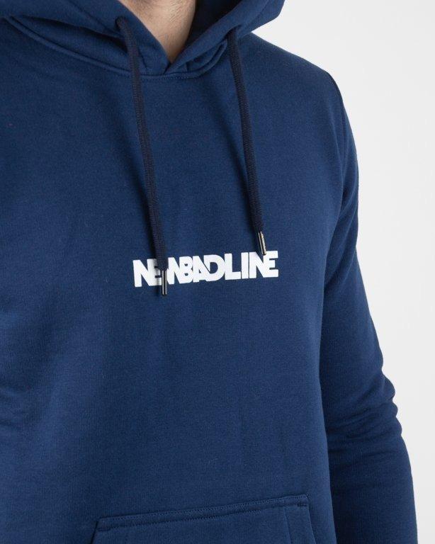 Bluza New Bad Line Hoodie Tape Navy