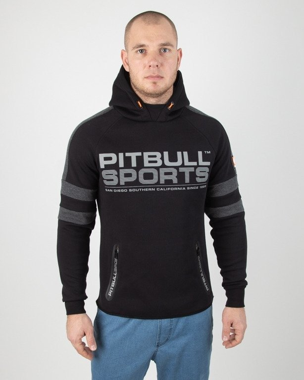 Bluza Pitbull Hoodie Raven Black