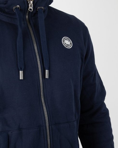 Bluza Pitbull Hoodie Zip Small Logo Navy