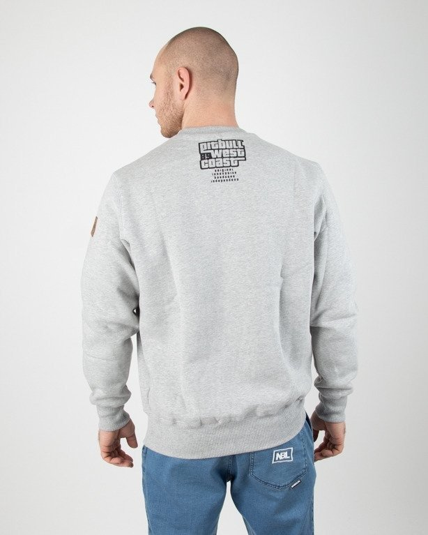 Bluza Pitbull Most Wanted Grey