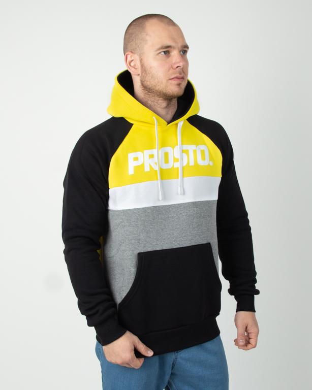 Bluza Prosto Hoodie Should Yellow