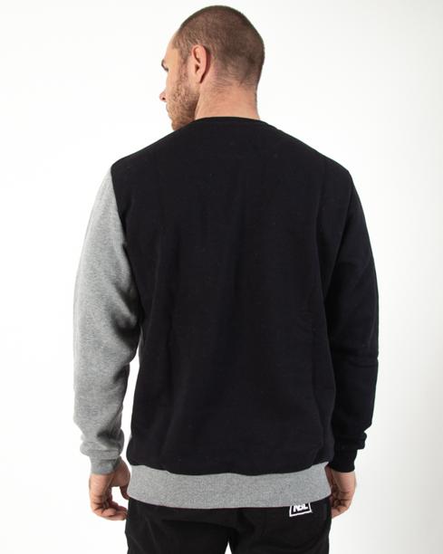 Bluza Prosto Slant Grey-Black
