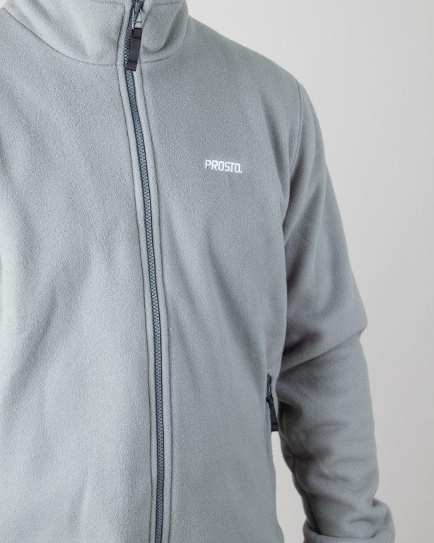 Bluza Prosto Zip Fleece Top Heated Grey