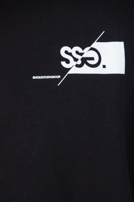 Bluza SSG Front Back Cut Logo Black