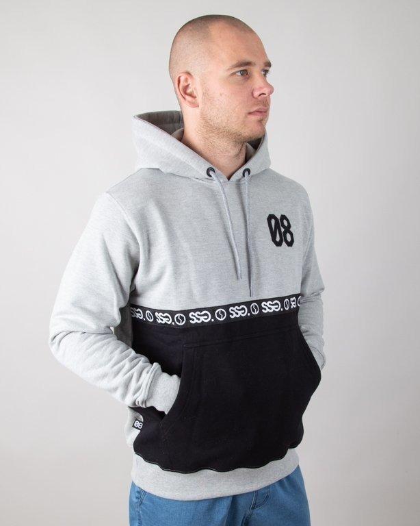 Bluza SSG Hoodie 08 Line Grey-Black