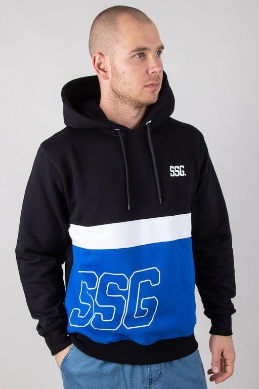 Bluza SSG Hoodie Double SSG Black-Blue