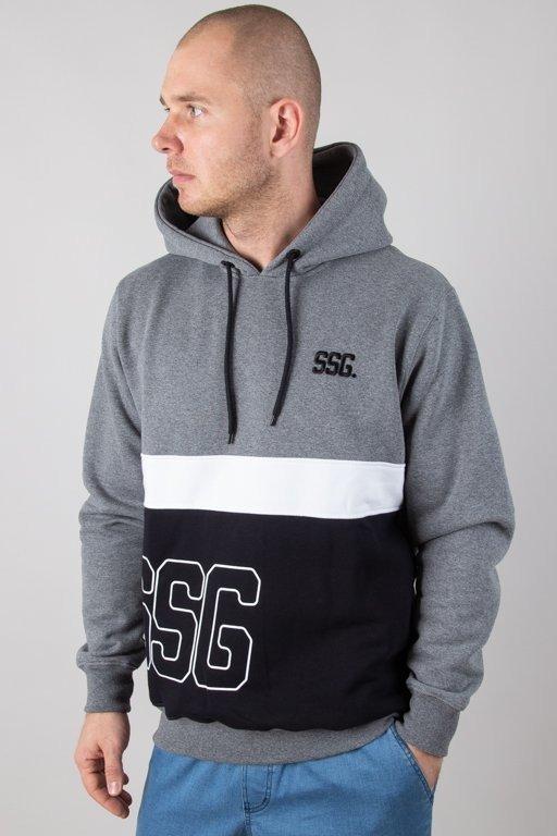 Bluza SSG Hoodie Double SSG Grey-Black