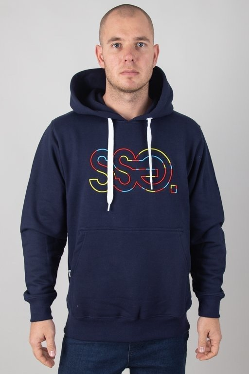 Bluza SSG Hoodie Outline Colors Navy