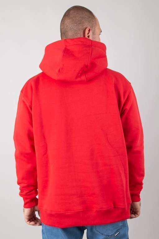 Bluza Stoprocent Hoodie Cube Red