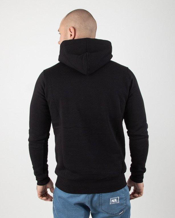 Bluza Stoprocent Hoodie Slimtag Black