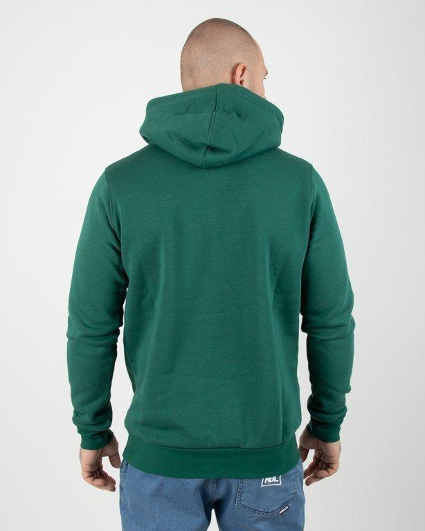 Bluza Stoprocent Hoodie Slimtag Green