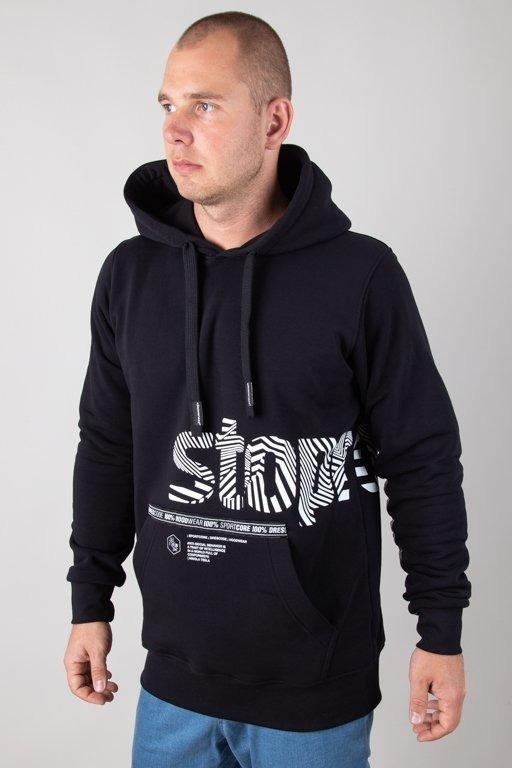 Bluza Stoprocent Hoodie Wavy Black