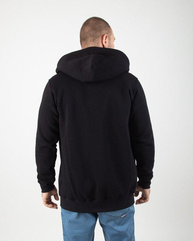 Bluza Stoprocent Hoodie Zip Base Smalltag Black