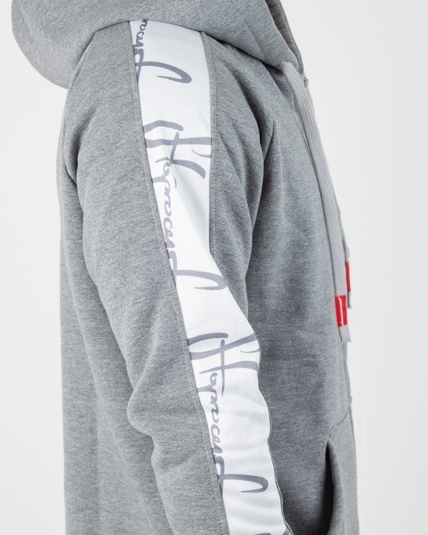 Bluza Stoprocent Hoodie Zip W-Linez Melange