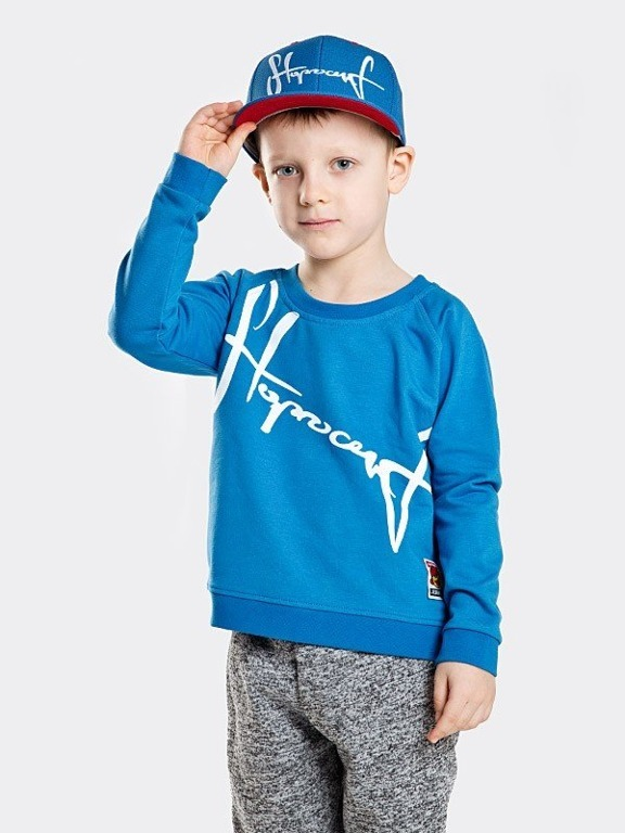 Bluza Stoprocent Kid Downhill Navy