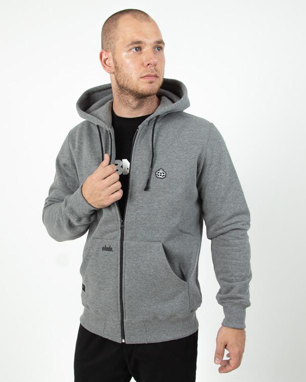 Bluza Zip Elade Icon Grey
