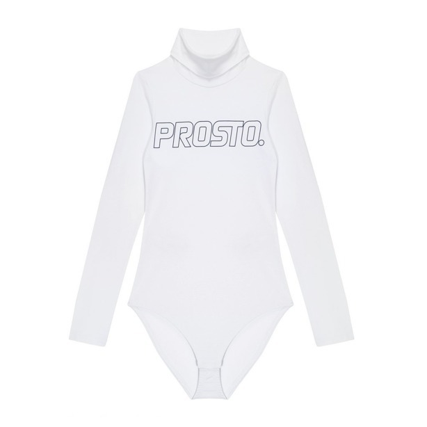 Body Prosto Woman Gooseflesh White