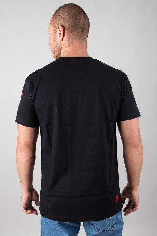 Bor Koszulka T-shirt Flaga Black