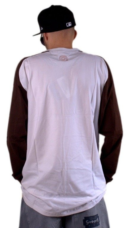 CLINIC KOSZULKA LONGSLEEVE WHITE-BROWN