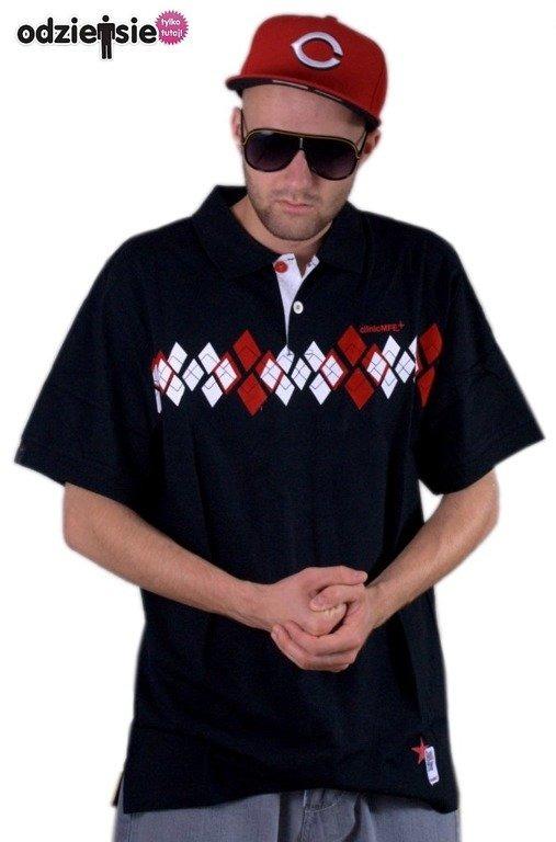 CLINIC KOSZULKA POLO BLACK