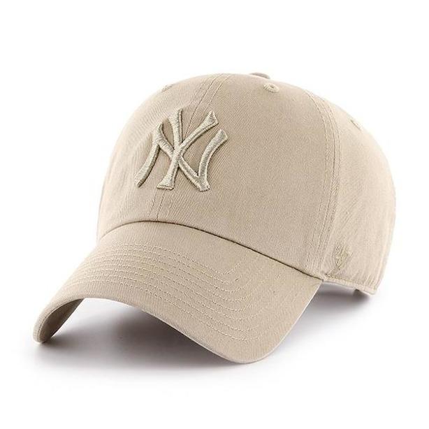 Czapka 47 Brand New York Yankees Clean Up Beige-Beige