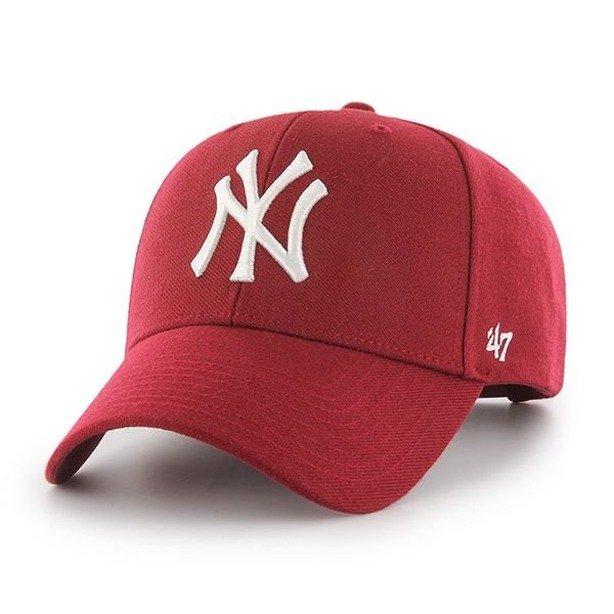 Czapka 47 Brand Snapback New York Yankees Red