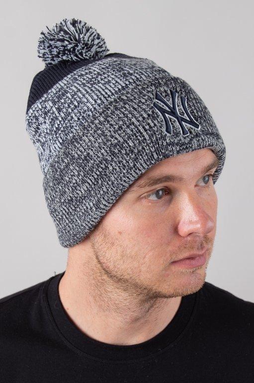 Czapka 47 Brand Zimowa Cuff Knit New York Yankees Navy