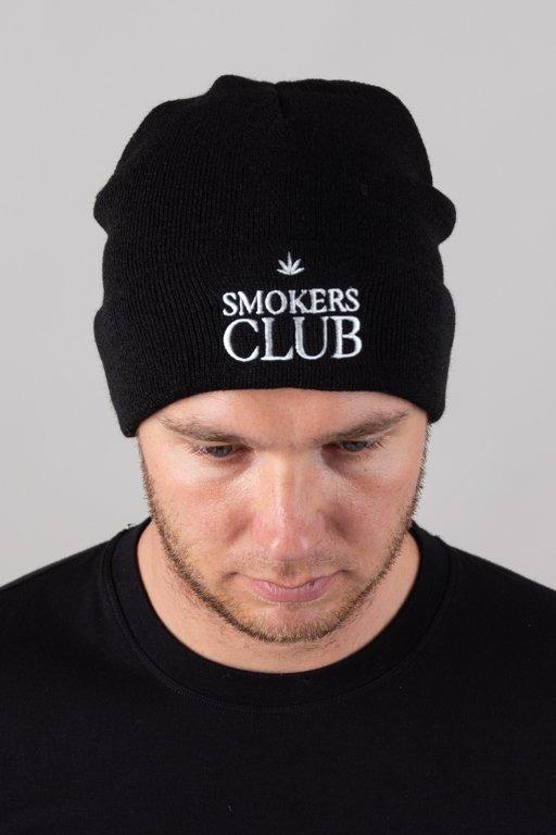 Czapka Diamante Wear Zimowa Smokers Club Black