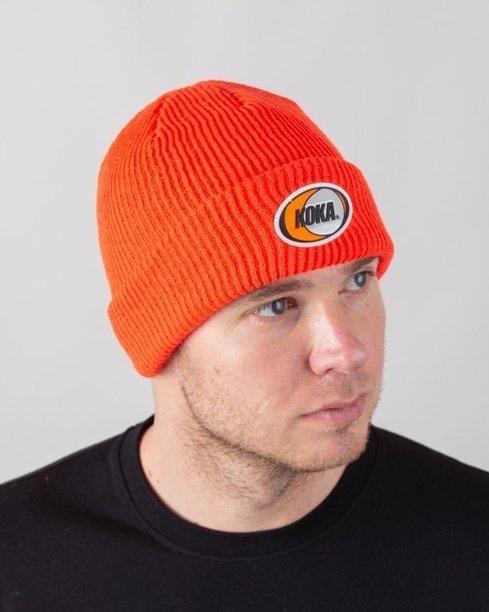 Czapka Koka Zimowa Dyna Orange