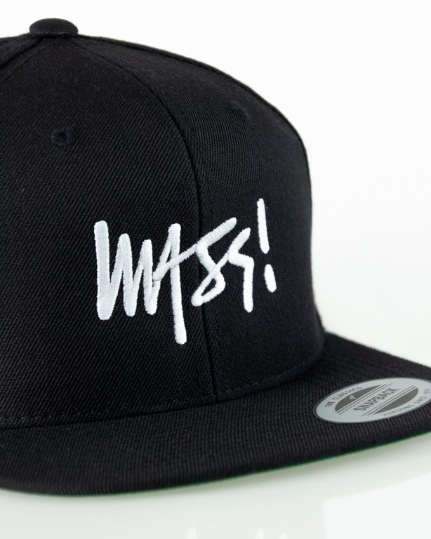 Czapka Mass Snapback Signature Black