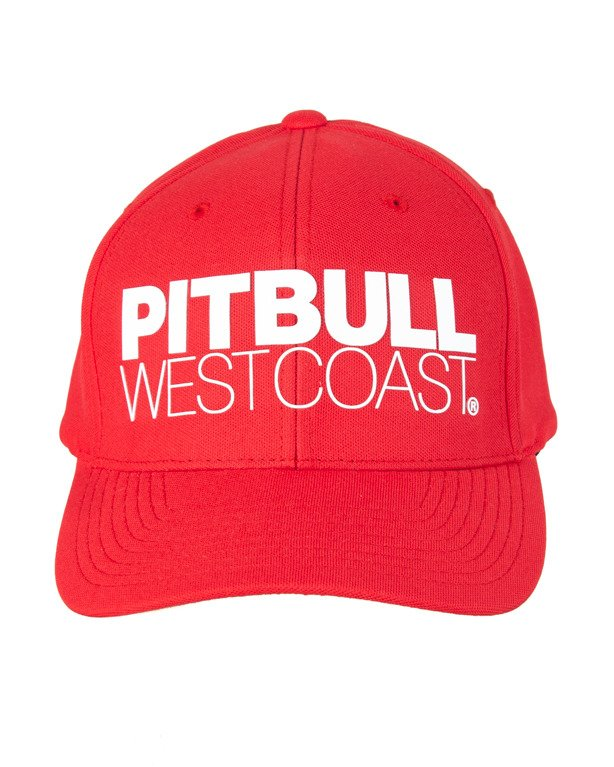 Czapka Pitbull Snapback Seascape Red
