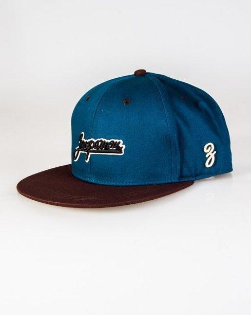 Czapka True Spin Snapback Classic Small Blue-Brown