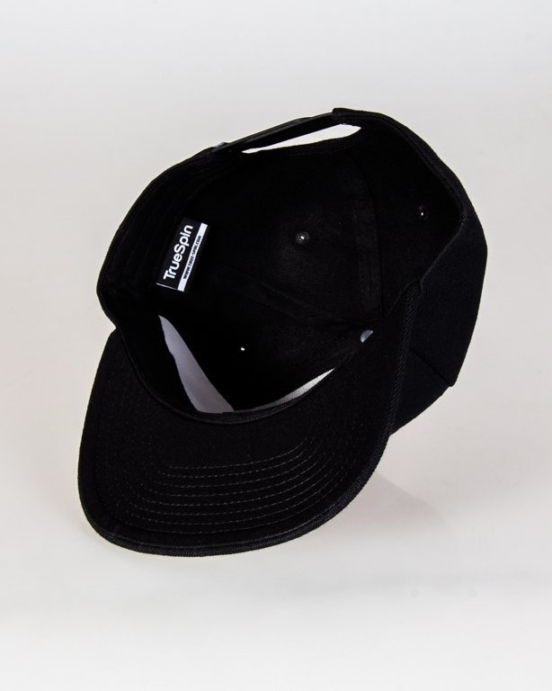 Czapka True Spin Snapback Clear Black