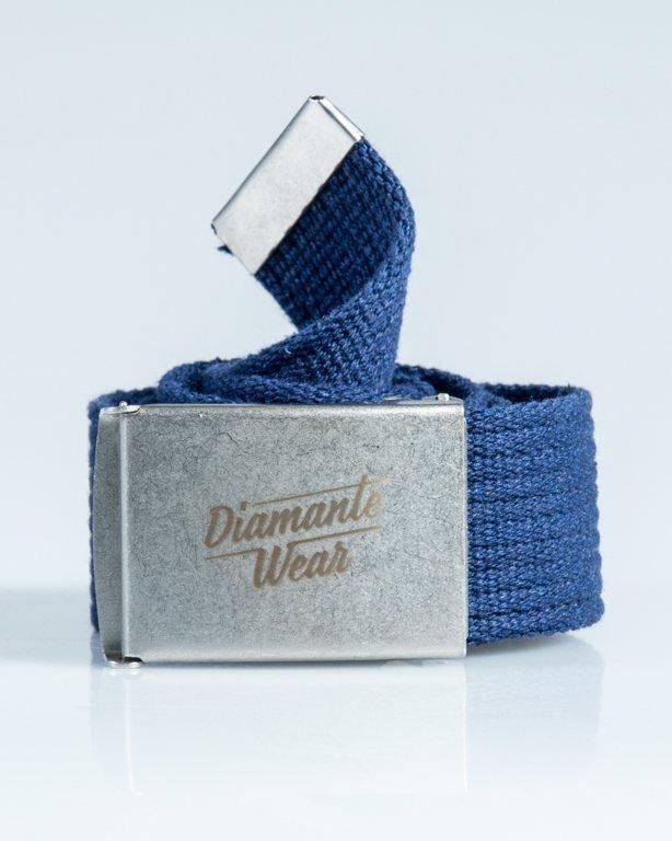 DIAMANTE WEAR BELT DIAMANTE NAVY-SILVER