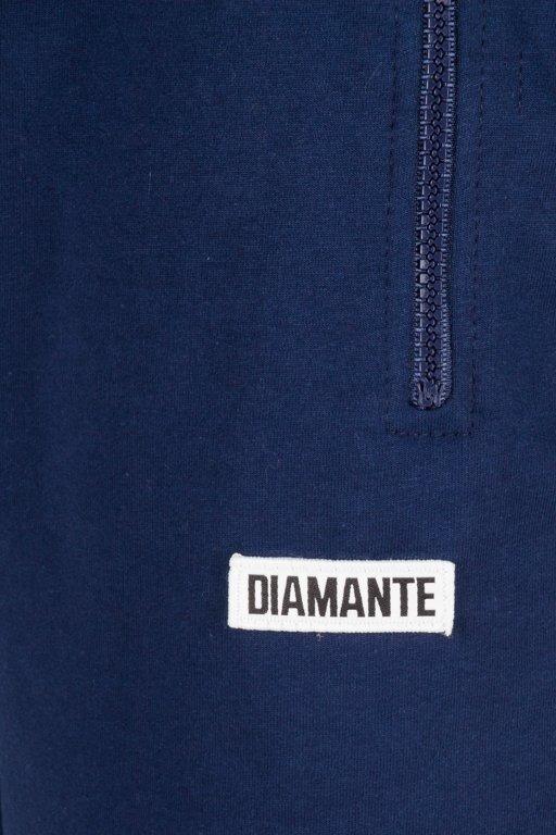 DIAMANTE WEAR SWEATSHORTS BOXLOGO NAVY