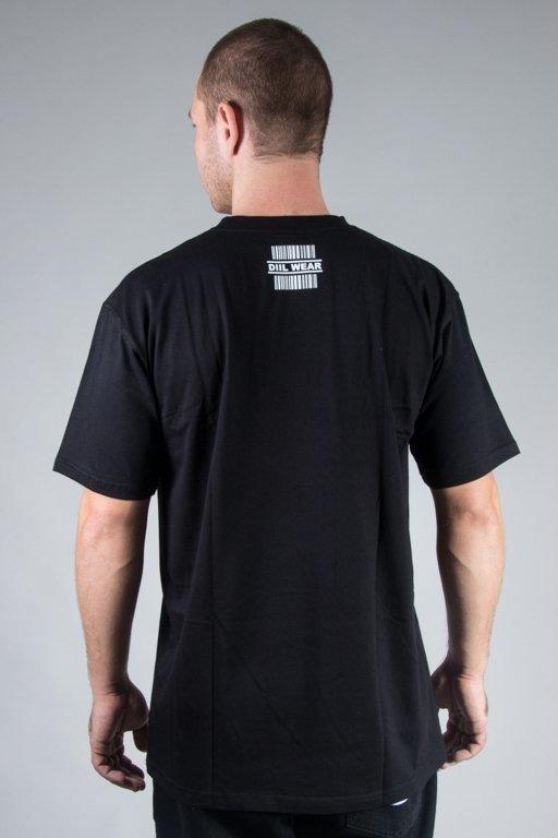 DIIL T-SHIRT CODE BLACK-WHITE