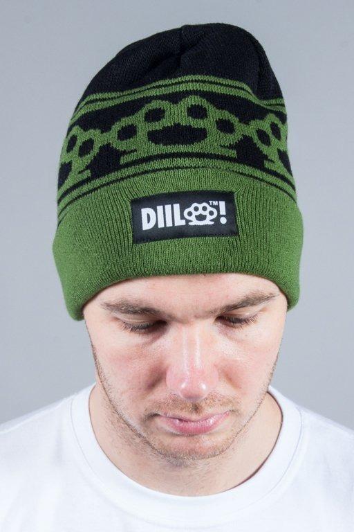 DIIL WINTER CAP KNUCKLES GREEN-BLACK
