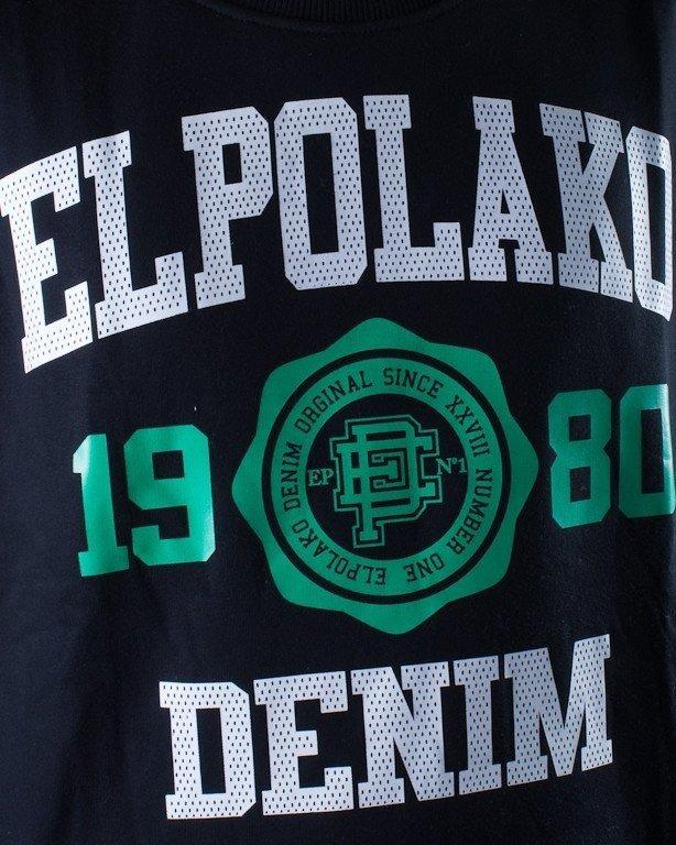 EL POLAKO BLUZA BEZ KAPTURA 1980 BLACK