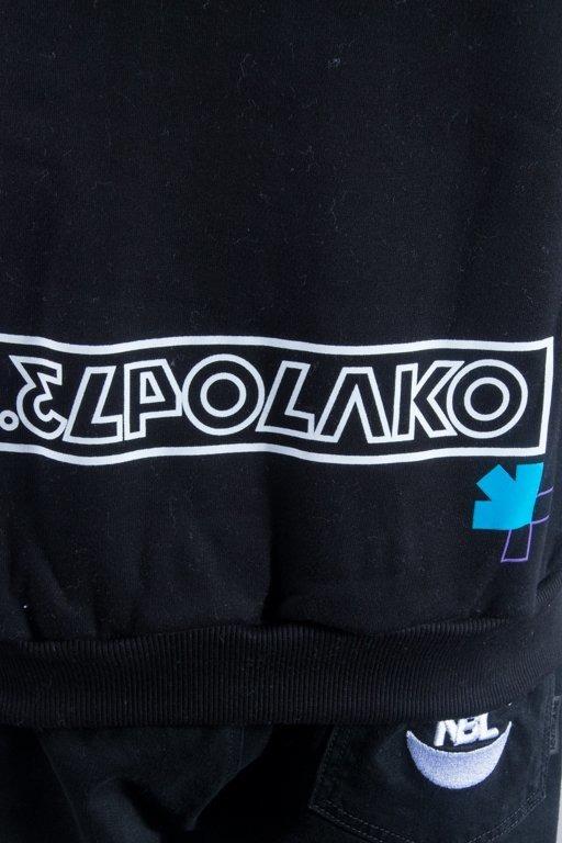 EL POLAKO HOODIE NUMBER BLACK