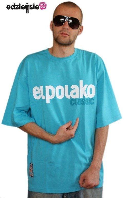 EL POLAKO KOSZULKA CLASSIC BLUE