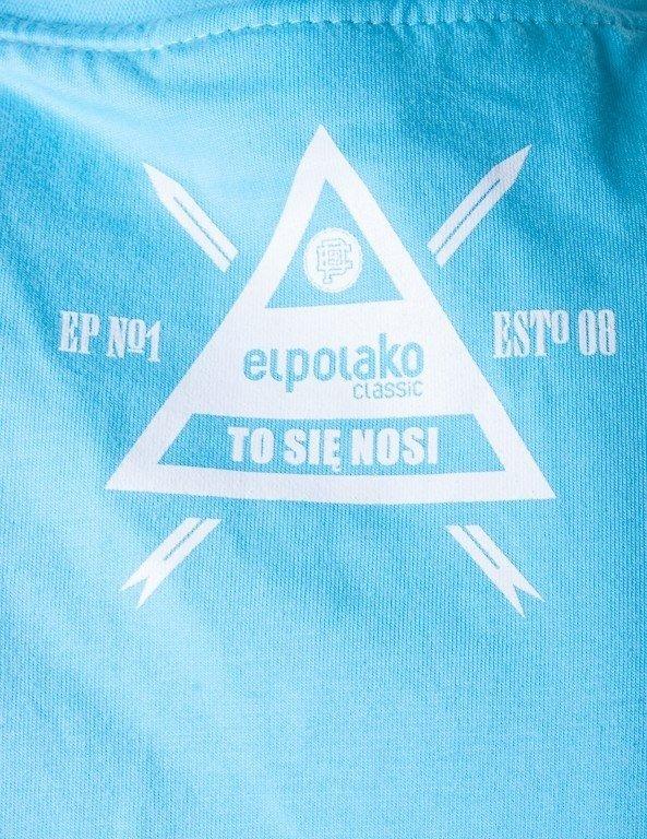 EL POLAKO KOSZULKA GLASS BLUE