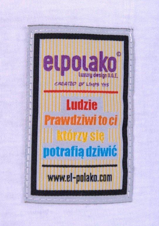 EL POLAKO KOSZULKA PEBBLES WHITE