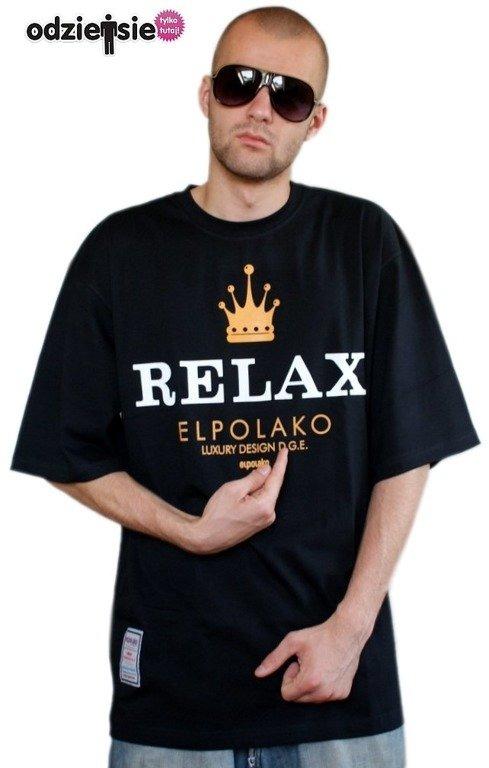 EL POLAKO KOSZULKA RELAX BLACK