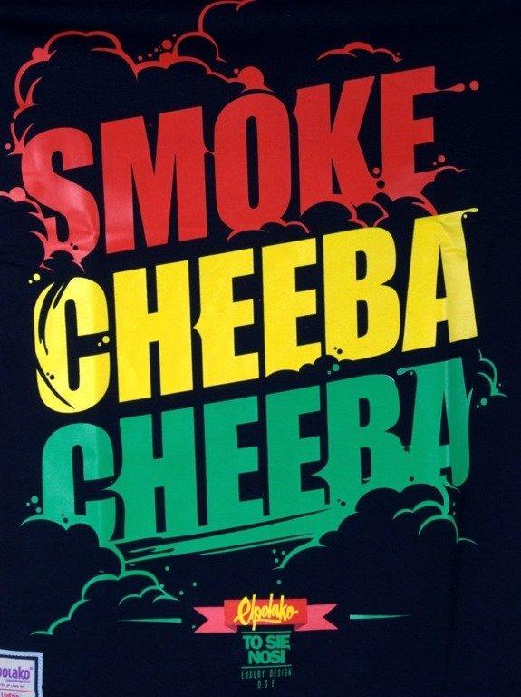 EL POLAKO KOSZULKA SMOKE CHEEBA CHEEBA BLACK