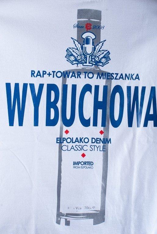 EL POLAKO KOSZULKA WYBUCHOWA WHITE