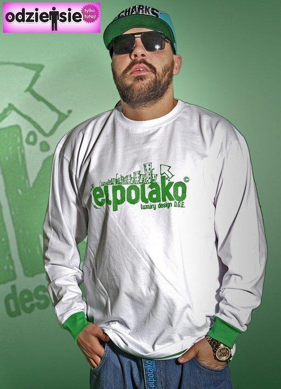 EL POLAKO LONGSLEEVE MIASTO WHITE