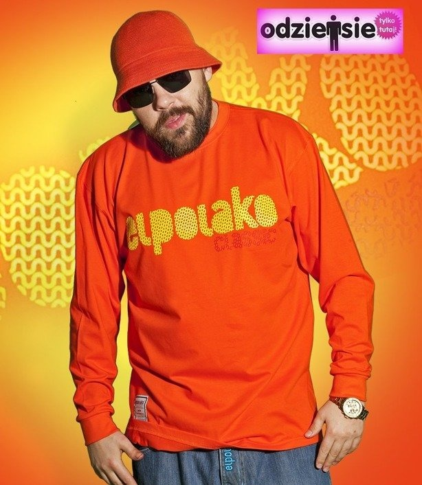 EL POLAKO LONGSLEEVE ŚLIMAK ORANGE